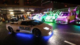 The Japan Underground Lamborghini Halloween Run
