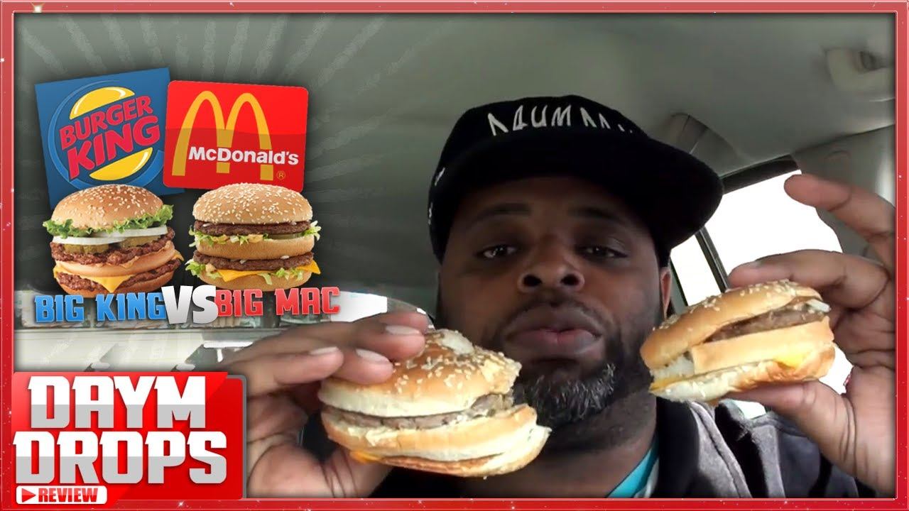 Big king vs big mac youtube for Does wendy s have a fish sandwich