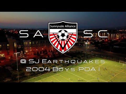2017-11-17 Sunnyvale Alliance 04B Red vs San Jose Earthquakes 2004B Academy II