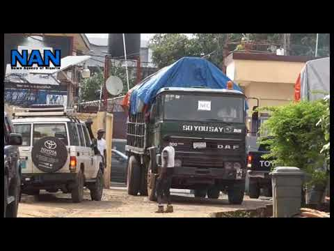 Liberian electoral commission moves materials to counties as voting begins today