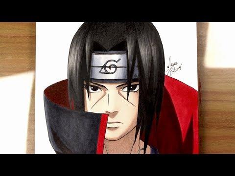 Como Desenhar UCHIHA ITACHI [Naruto]