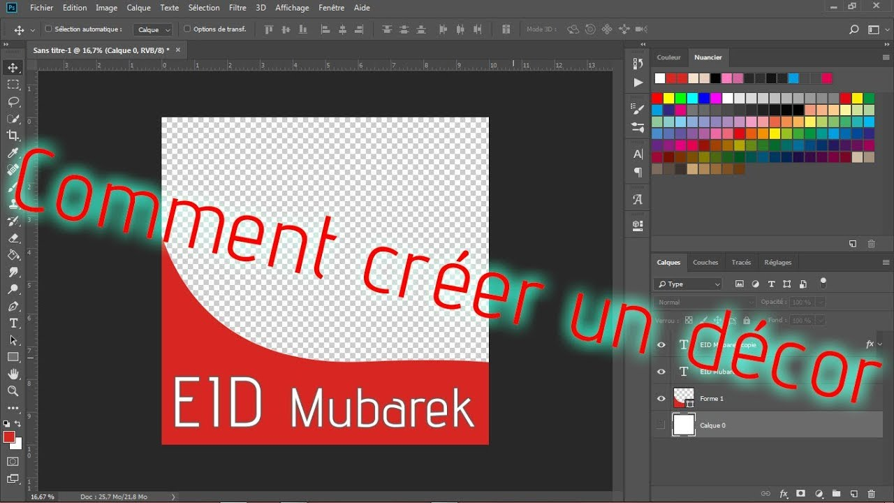 Comment Creer Decor De Photo De Profile Facebook Youtube