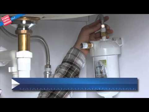 Ferretotal c mo instalar un filtro de agua youtube - Instalar un lavavajillas al fregadero ...