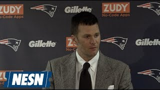 Tom Brady Patriots vs. Bears Week 7 Postgame Press Conference