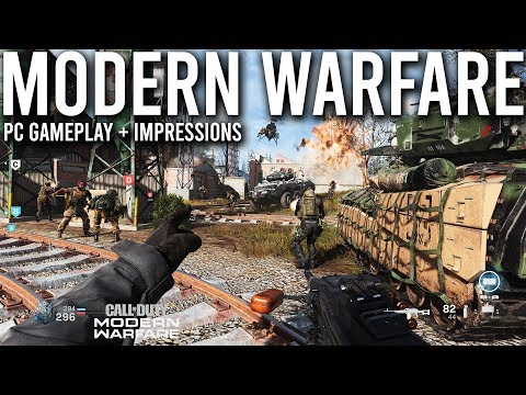 Modern Warfare PC Gameplay and Impressions