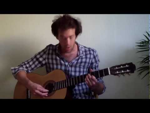 Justin Townes Earle - Move Over Mama (Accoustic guitar cover)