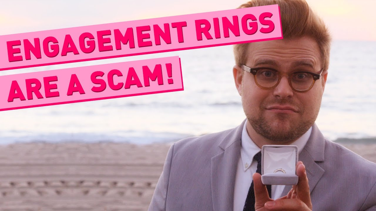 Why Engagement Rings Are A Scam Adam Ruins Everything Youtube