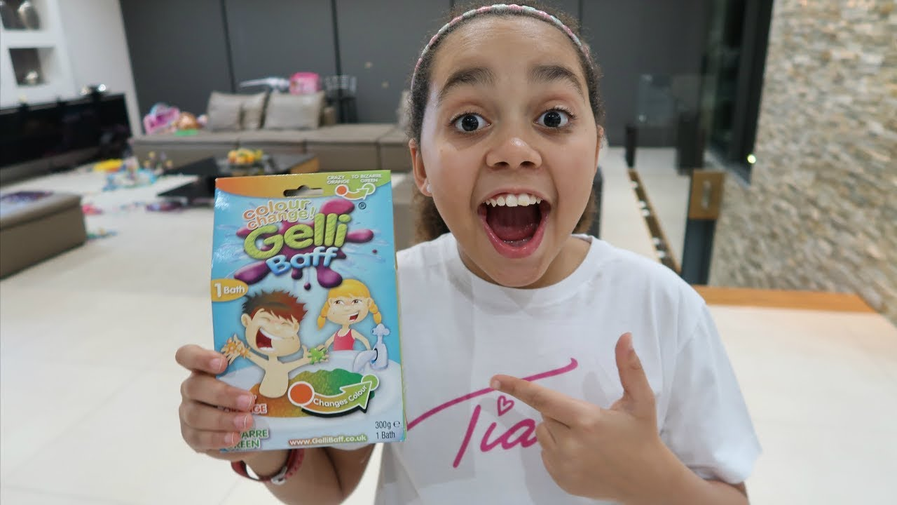 Squishy Gelli Baff Toy Challenge Disney Wikkeez Toy Prizes FunnyCat.TV