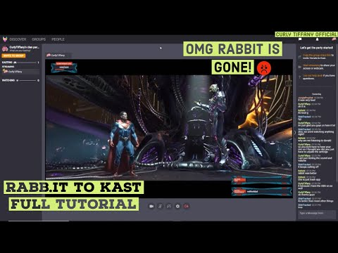 HOW TO USE KAST WATCH PARTY | RABBIT TO KAST | FULL TUTORIAL| 08/10/2019