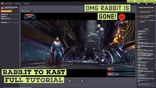How To Use Kast Watch Party Rabbit To Kast Full Tutorial 08 10 2019 Youtube