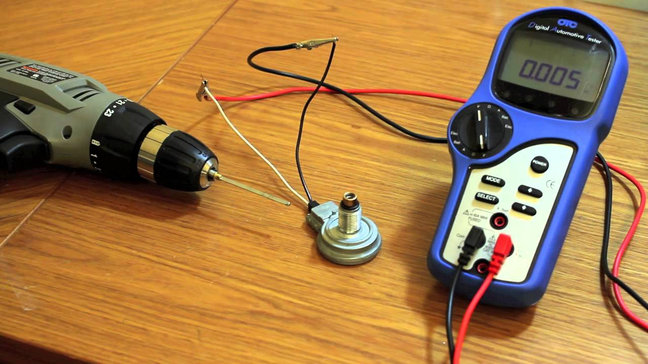 How To Test A 2 Wire Speed Sender  YouTube