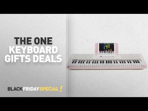 Walmart Top Black Friday The One Keyboard Gifts Deals: The ONE Smart Piano - Light Keyboard, Pink