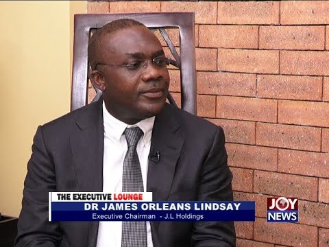 Dr. James Orleans Lindsay - The Executive Lounge on JoyNews (17-10-17)