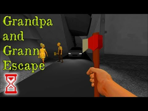Прохождение второй главы   Grandpa And Granny Escape House