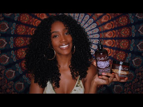 AFFORDABLE NATURAL HAIR PRODUCT | Review & Demo Feat. Bella Curls