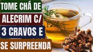 Chá de Alecrim com 3 Cravos da Índia
