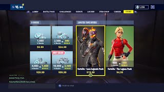 Lava Legends Pack is Finally Here! (Fortnite)