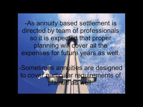 What is Structured Settlement And How It Gives Benefit to Plaintiff ?