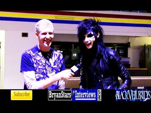Black Veil Brides Interview Andy Six UNCUT 2011