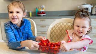 Histoire du voyage en famille  pour enfants et Comptines pour bébé de Five Kids