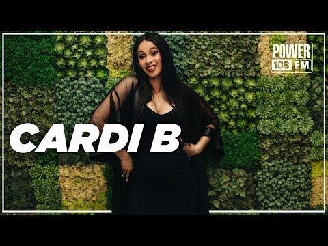 Cardi B on Night of baby making, Media vs. Khloe + Music w/ J.Lo & Dj Khaled