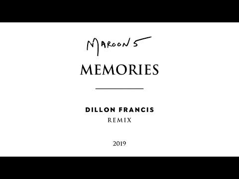 Maroon 5, Dillon Francis - Memories Dillon Francis Remix (Official Audio)