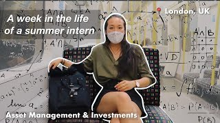 📅 a week iฑ my life as a summer intern in london 💸