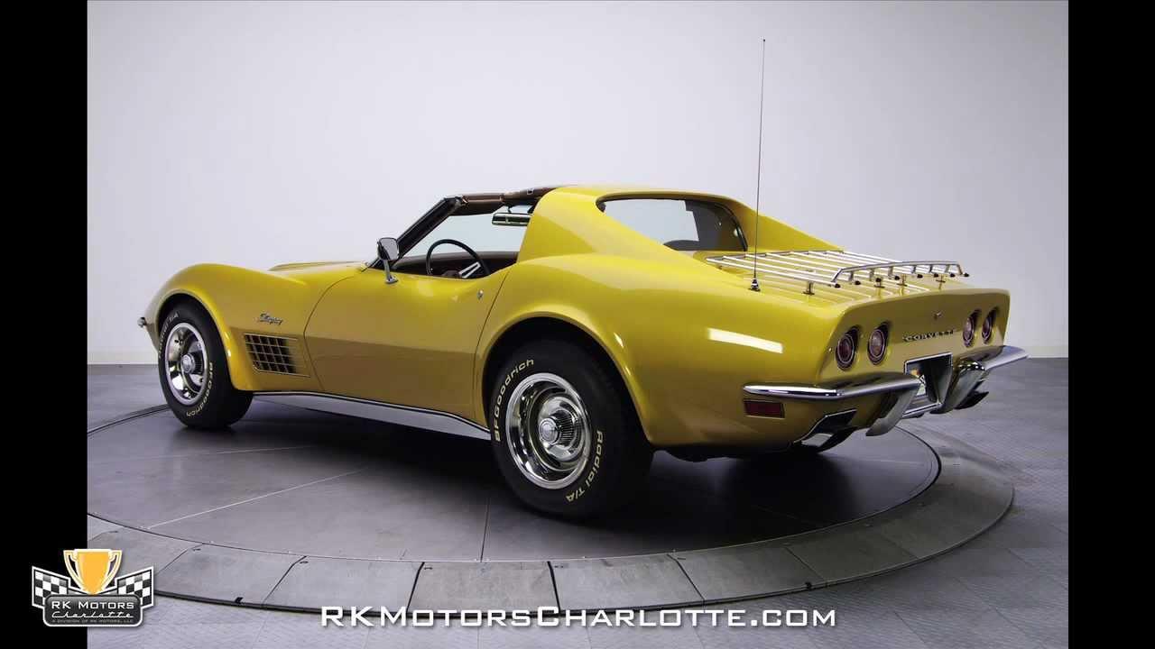 Chevrolet Corvette For Sale >> 132647 / 1972 Chevrolet Corvette - YouTube
