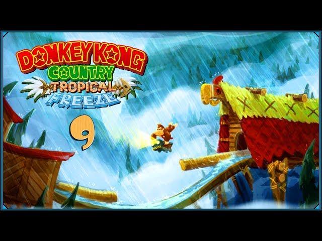 Donkey Kong Country: Tropical Freeze #9 - Muzyka z rogami i tartak z olbrzymami