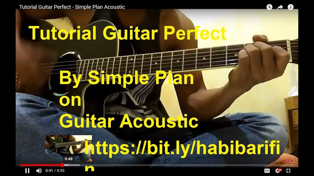 Perfect simple plan chords strumming