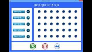 DRsequenciator for Creative Programming for Digital Media & Mobile Apps Course