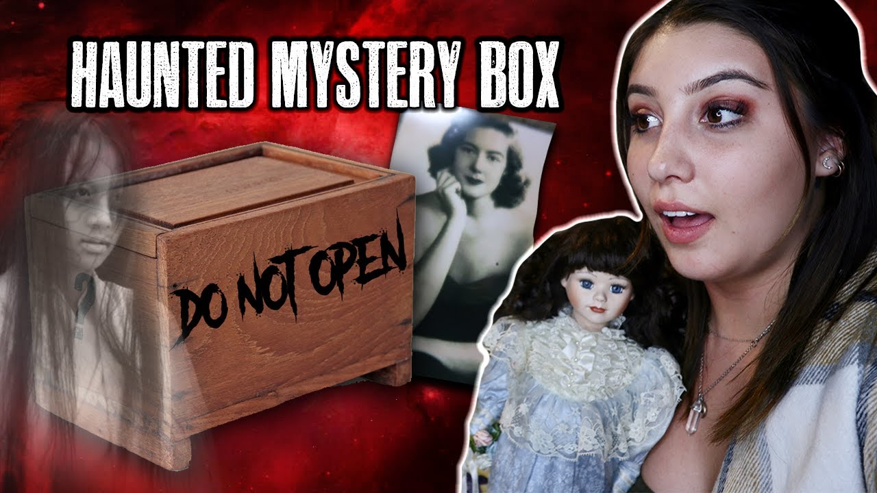 WE BOUGHT A HAUNTED MYSTERY BOX FROM EBAY! (TRAGIC STORY)