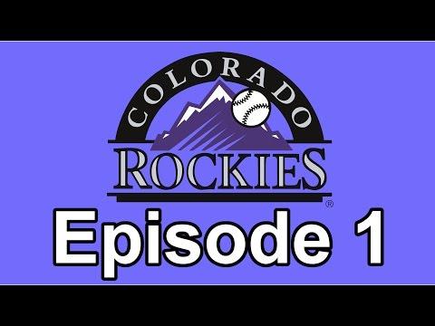 Colorado Rockies Fantasy Draft Franchise - MLB 16 The Show - Episode 1 - The Draft