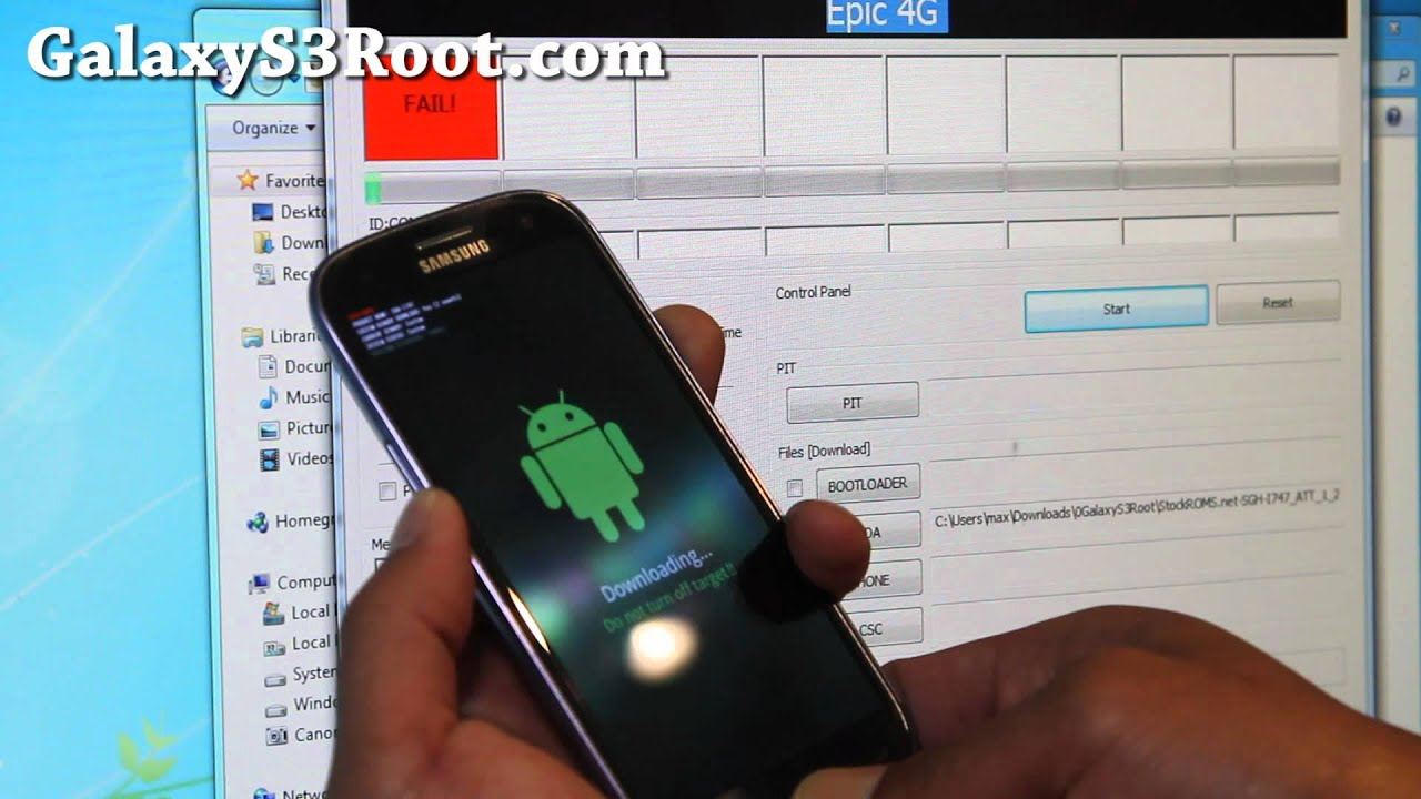 How to Unroot AT&T Galaxy S3 SGH-I747!
