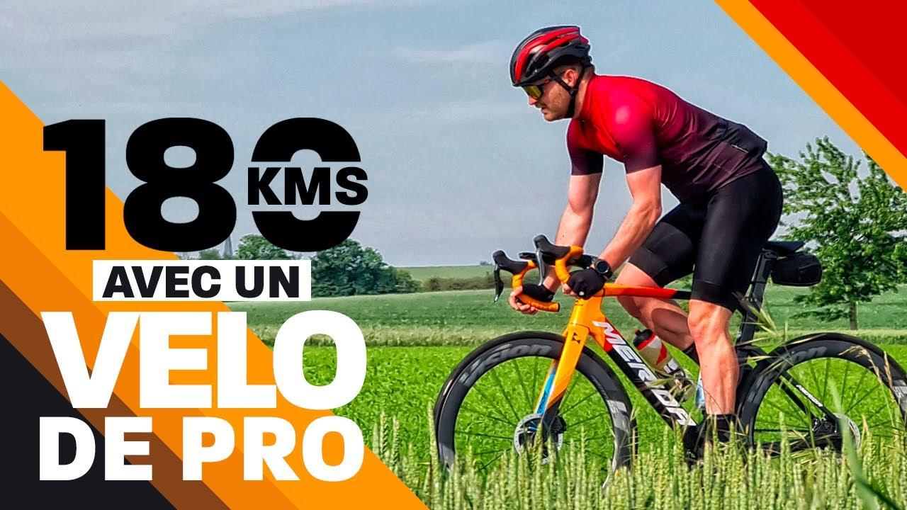 180 KMS AVEC UN VELO DE PRO - @MERIDA BIKES REACTO