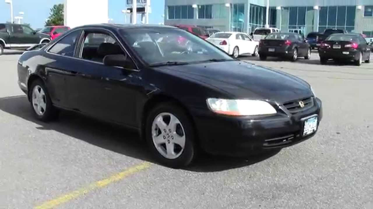 Superior 1998 Honda Accord Coupe V6 EX Auto 1F140520B   YouTube