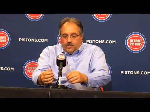 Pistons' Stan Van Gundy discusses blowout loss to Cavaliers