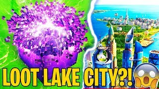 OMG! Fortnite Season 6 LEAKED INFO + LOOT LAKE CITY?! Map Changes and Lore - Fortnite Battle Royale