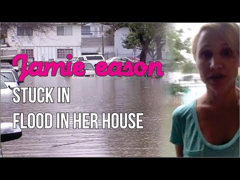 Jamie eason harvey updates live from her flooded house in houston