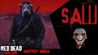 """How to Become """"The Pig"""" from SAW Movie on Red Dead Online"""