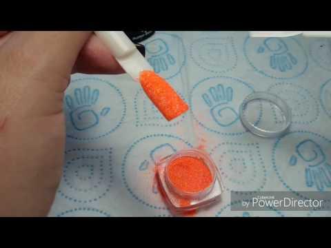 Пыль на ногти как наносить