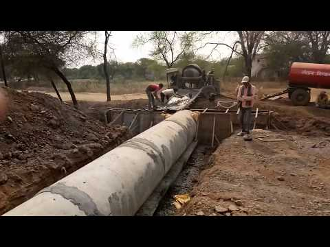Hume pipe culvert construction civil engineering tips video |