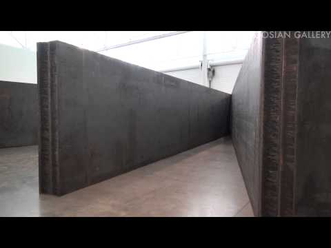 RICHARD SERRA: New Sculpture at Gagosian West 21st Street + West 24th Street