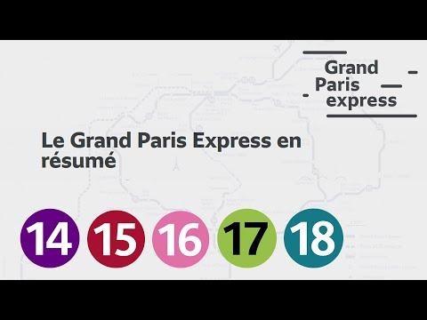 Le Grand Paris Express expliqué