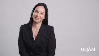 Julie Rochette – Prix Reconnaissance UQAM 2020 - Faculté de science politique et de droit