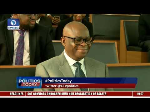 Olaopa, Idahosa React To Onnoghen's Conviction  Politics Today 