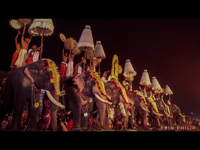 Kollam Pooram 2019 | Kerala Festival Cinematic Film by Ebin Philip