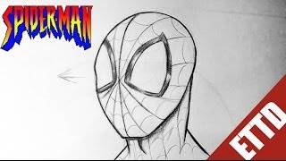 How to Draw Spiderman from Amazing Spider-man - Easy Things to Draw