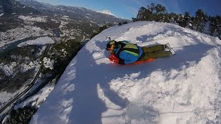 Toboggan - GoPro Awards: Toboggan BASE Jump