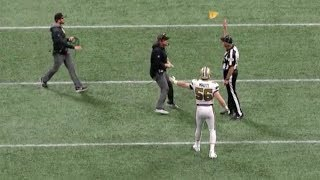 Sean Payton Runs Onto The Field Causing Game-Losing Unsportsmanlike Conduct Penalty   NFL